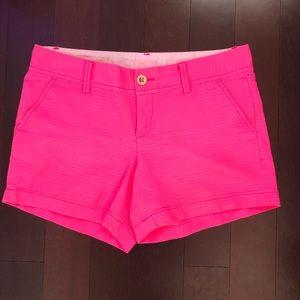Lilly Pulitzer Callahan shorts pink